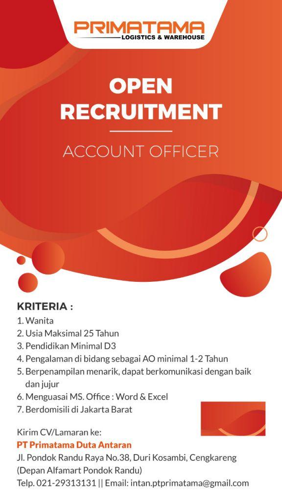 lowongan accounting officer